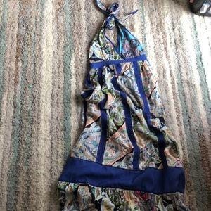 Boston proper Gorgeous backless maxi dress